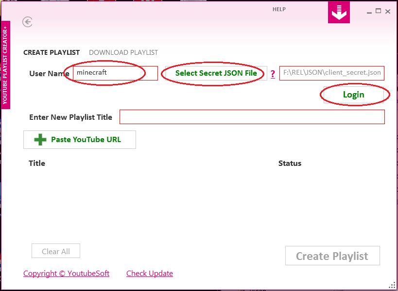 license key for youtube playlist downloader
